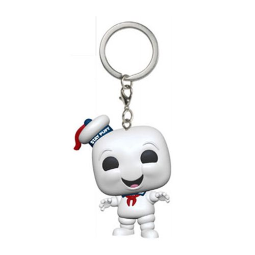 Ghostbusters Stay Puft Pocket Pop! Key Chain