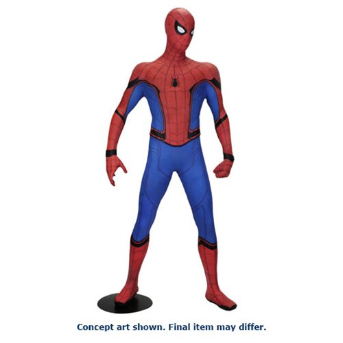 Spider-Man Homecoming Spider-Man Life-Sized Foam Figure Replica