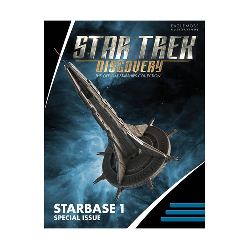 Star Trek Discovery Starships Collection Starbase-1 Ship with Collector Magazine
