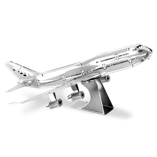 Commercial Jet Metal Earth Model Kit