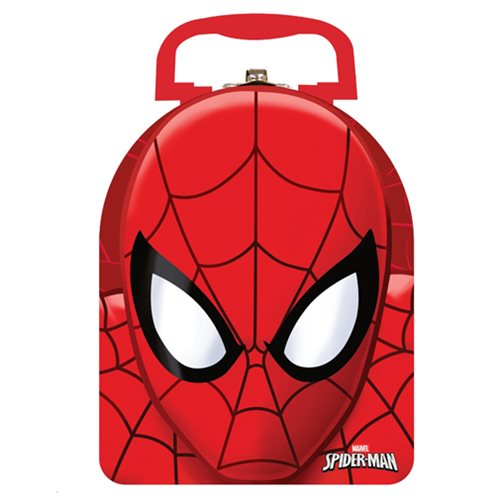 Spider-Man Arch Carry All Embossed Tin Lunch Box