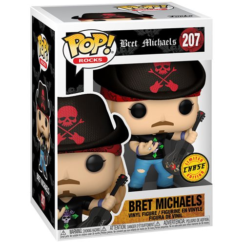 Bret Michaels Pop! Vinyl Figure