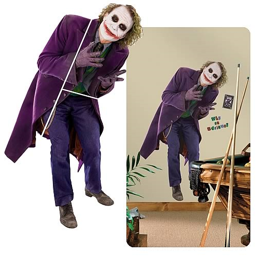 Batman: The Dark Knight Joker Giant Wall Applique