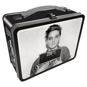 Elvis Presley Enlistment Photo Gen 2 Large Fun Box Tin Tote