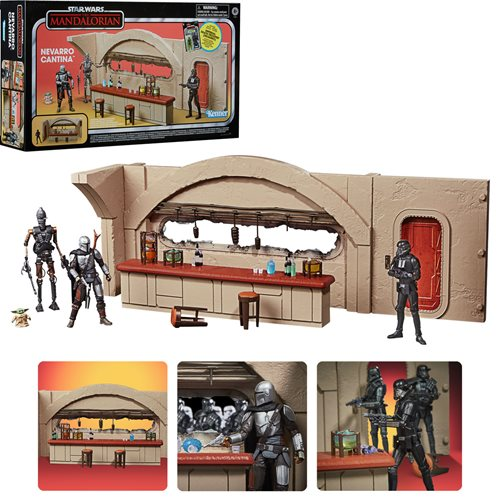Star Wars The Vintage Collection Nevarro Cantina Playset