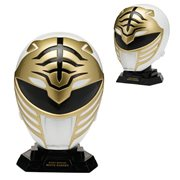 Power Rangers Legacy White Ranger 1:4 Scale Helmet Replica