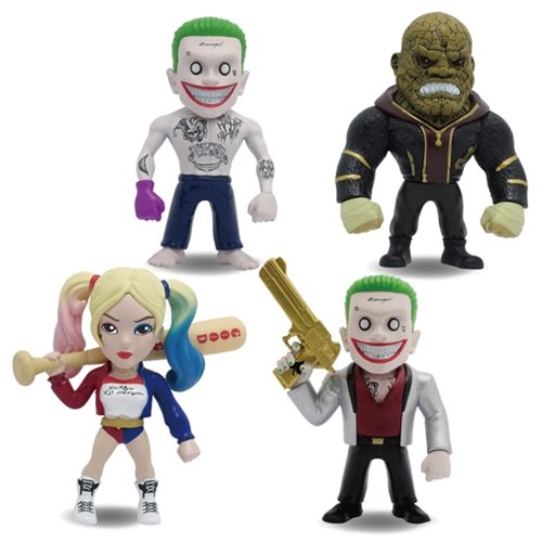 Suicide Squad 4-Inch Metals Die-Cast Figure Wave 1 Case