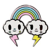 Tokidoki Pastel Pop Rainbow Enamel Pin