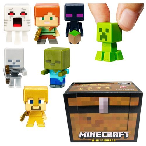 Minecraft Chest Series Mini-Figures Wave 1 Display Box