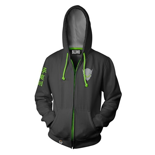 Overwatch Ultimate Genji Zip Up Hoodie