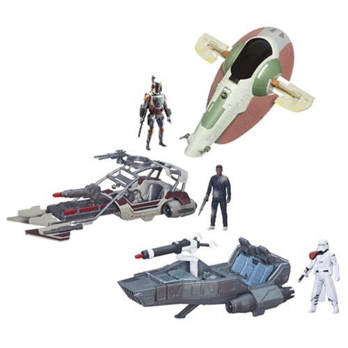 Star Wars: The Force Awakens Class II Vehicles Wave 2 Case