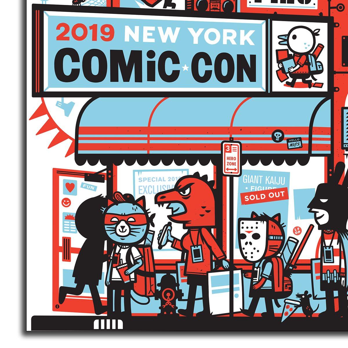 GLOW IN THE DARK SMART WALLET 2019 New York comic con exclusive RARE