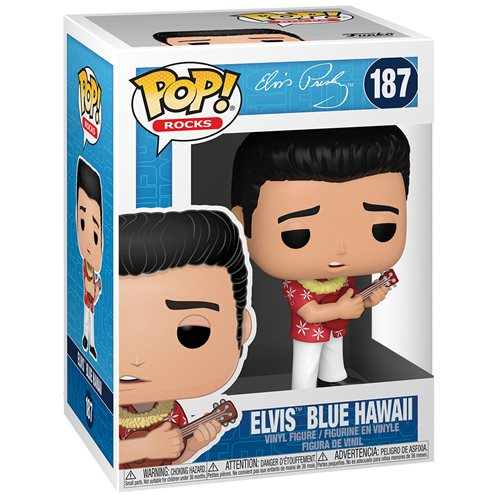 Elvis Presley Blue Hawaii Pop! Vinyl Figure
