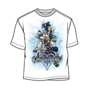 Kingdom Hearts Game On T-Shirt