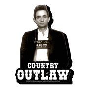 Johnny Cash Outlaw Funky Chunky Magnet