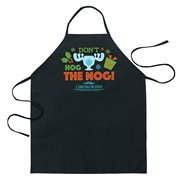 National Lampoons Christmas Vacation Don't Hog the Nog Apron