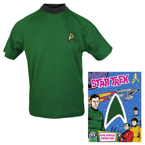 STAR TREK Mens 50th Anniversary First Contact T-Shirt