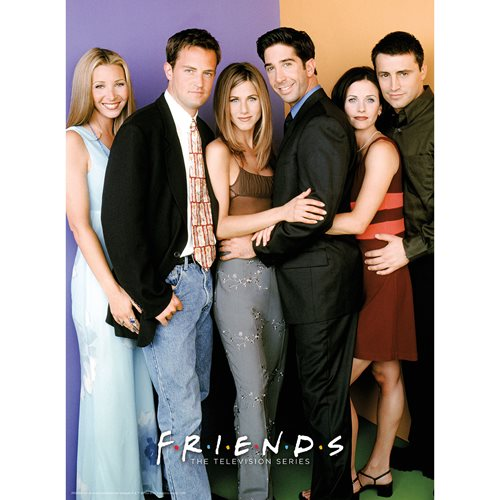 Friends Cast 500-Piece Puzzle