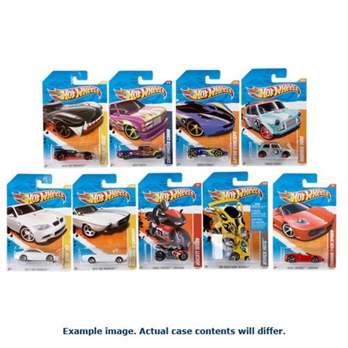 Hot Wheels Worldwide Basic Cars 2017 Wave 12 Case