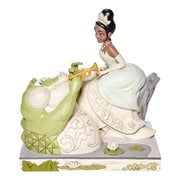 Disney Traditions Princess and the Frog Tiana and Louis White Woodland Bayou Beauty by Jim Shore Statue