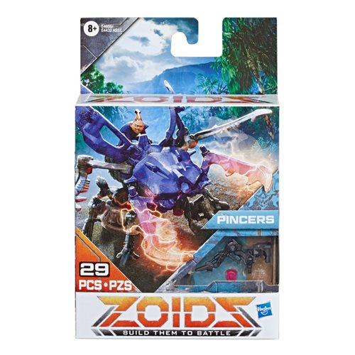 Zoids Beta Pincers Beetle-Type Action Figure Kit