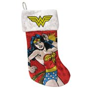 Wonder Woman Retro 19-Inch Printed Stocking