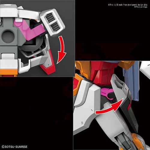 Gundam SEED Destiny #226 Destiny Gundam Heine Westenfluss Colors HGCE 1:144 Scale Model Kit