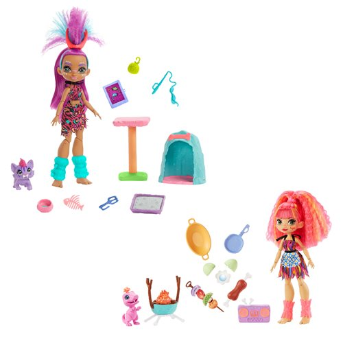 Cave Club Doll and Playset Set