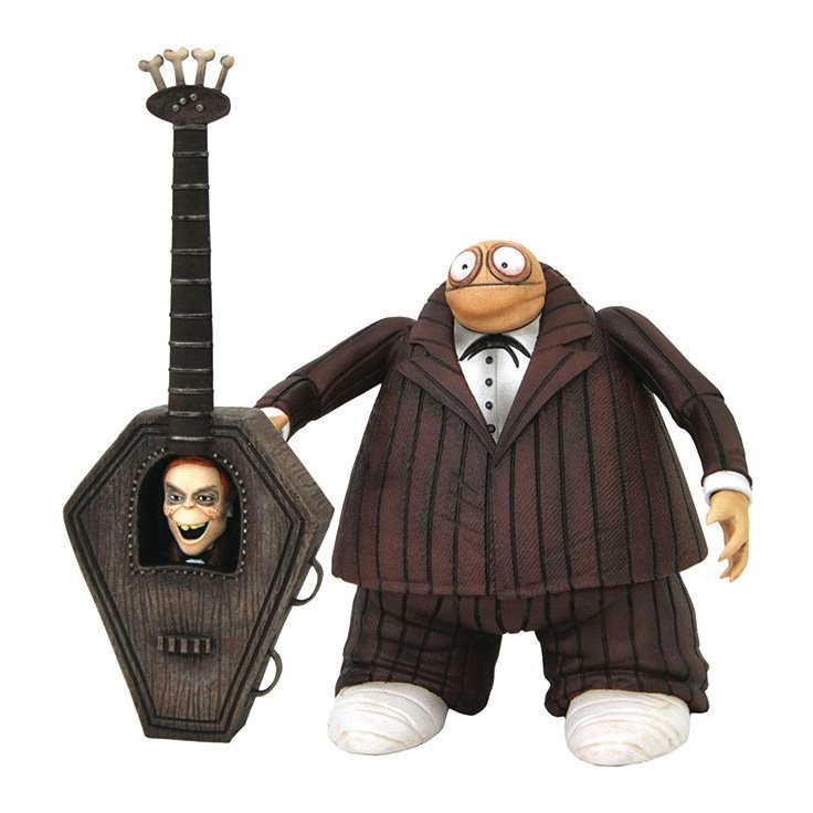 Nightmare Before Christmas Select Series 9 Zombie Bass Player Action Figure There are few who would deny that the nightmare before christmas is the best halloween movie ever. nightmare before christmas select series 9 zombie bass player action figure