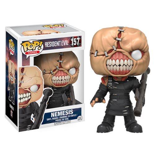 Resident Evil The Nemesis Pop Vinyl Figure
