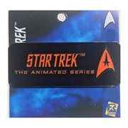 Star Trek Animated Series Logo Pin