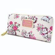 The Aristocats Marie Floral Print Zip-Around Wallet