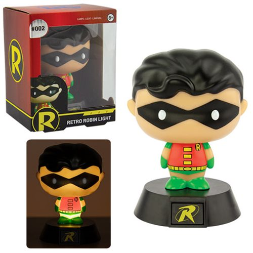 DC Comics Robin Icon Light