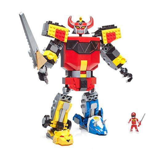 Mega Construx Mighty Morphin Power Rangers Megazord Playset