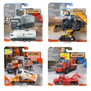 Matchbox Working Rigs Vehicle Mix 4 Case