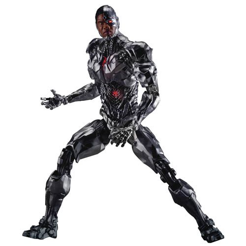 Justice League Movie Cyborg DAH-008 8-ction Action Figure - Previews Exclusive
