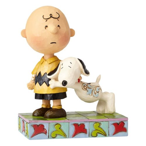 Peanuts by Jim Shore Snoopy with Charlie Brown I'll Miss You Statue