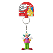 The Simpsons Krusty the Clown 3-D Mini-Figure Key Chain