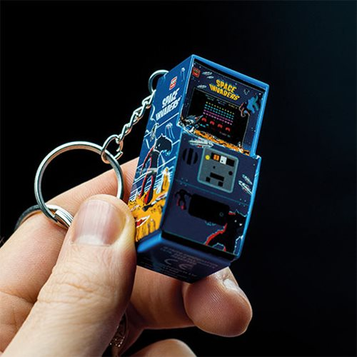 Space Invaders Arcade Key Chain