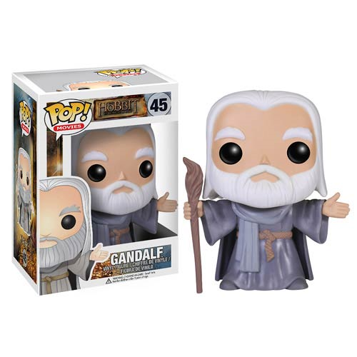 The Hobbit The Desolation of Smaug Hatless Gandalf the Grey Pop! Vinyl Figure