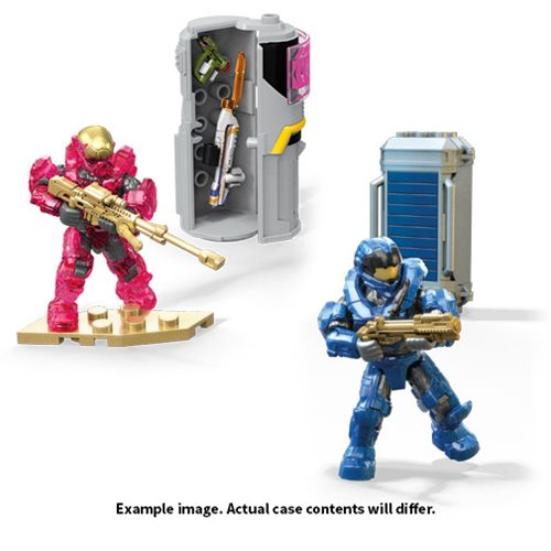 Halo Mega Bloks Power Packs Mix 3 2019 Case