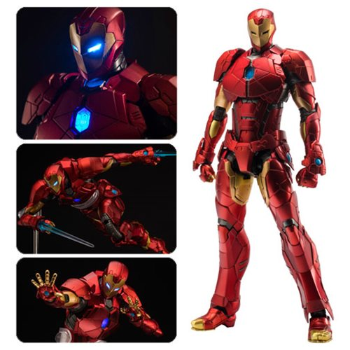 Iron Man Shape Changing Armor Re: Edit Light-Up Action Figure