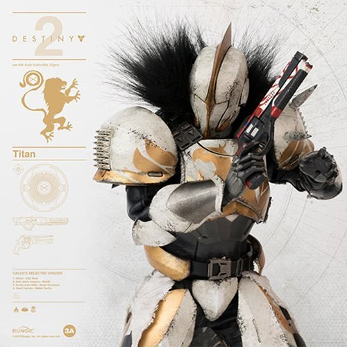 Destiny 2 Titan Calus's Selected Shader 1:6 Scale Action Figure