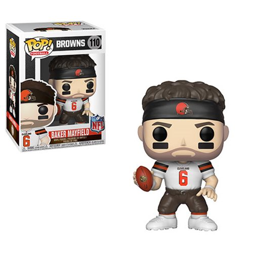 NFL Draft Baker Mayfield Pop! Vinyl Figure #110, Not Mint