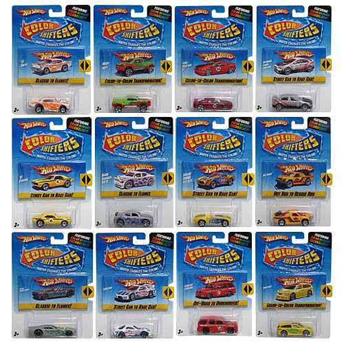 Hot Wheels Color Shifters Wave 3 Revision 1