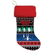 Stranger Things Red Cuff Printed Stocking