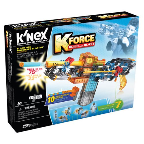 K'NEX K-Force Flash Fire Motorized Blaster