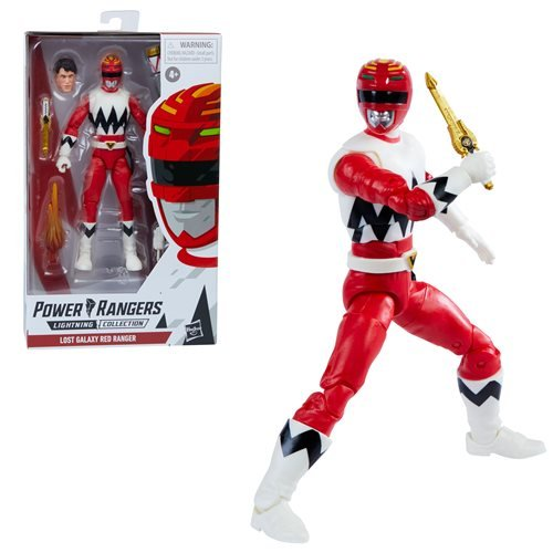 Power Rangers Lightning Collection Lost Galaxy Red Ranger