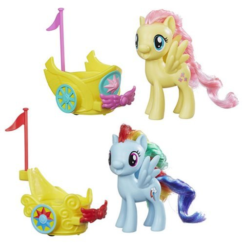 My Little Pony Royal Spin Along Chariots Wave 1 Set