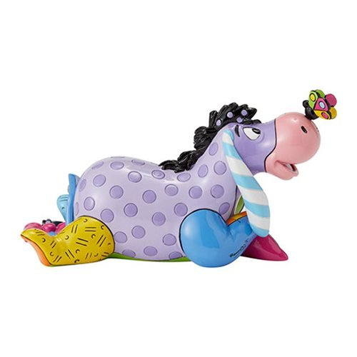 Disney Winnie the Pooh Eeyore Mini Statue by Romero Britto